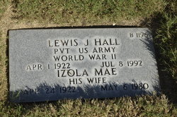 Izola Mae Hall