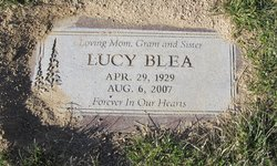 Lucy <I>Garcia</I> Blea