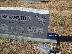 Bernice M. <I>Bartlett</I> McGinthia