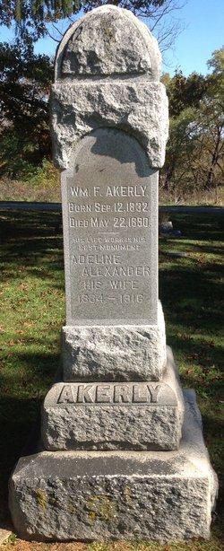 Adeline M <I>Alexander</I> Akerly