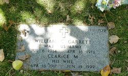 Clarice M Garrett