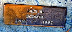 Lucy H Dodson