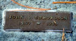 John D Edmondson