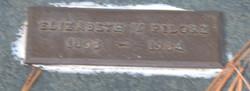 "Elizabeth V ""Bessie"" <I>Snyder</I> Pilorz"