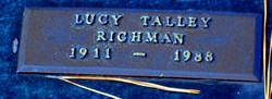 Lucy <I>Talley</I> Richman