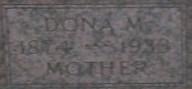 Dona McNight <I>Leith</I> Doak