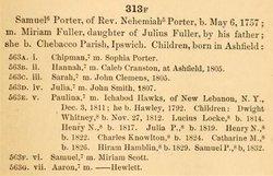 Samuel Porter, Sr