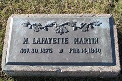 "Moses Lafayette ""Lafe"" Martin"