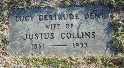 Lucy Gertrude <I>Dent</I> Collins