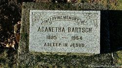 "Aganetha ""Agnes"" <I>Klassen</I> Bartsch"