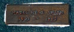 Hazel Hyde <I>Hyde</I> Smith