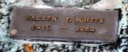Warren T White