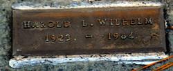 Harold Louis Wilhelm