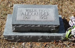 Willie Fay Alexander