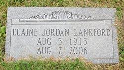 Enid Elaine <I>Jordan</I> Lankford