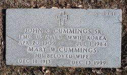 Mary W Cummings