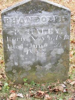 Randolph P Haley