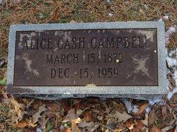 Rosa Alice <I>Cash</I> Campbell