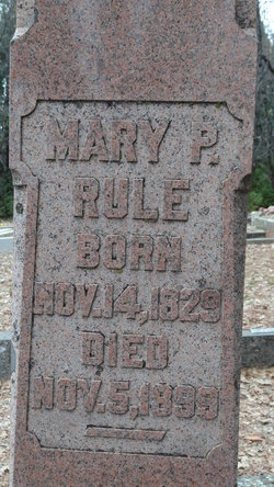 Mary P <I>Bice</I> Rule