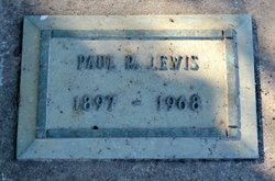 Paul Ray Lewis