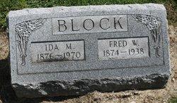 Ida May <I>Sanks</I> Block