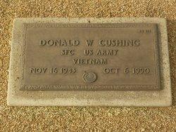Donald W Cushing