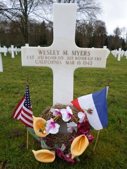 2Lt Wesley M Myers