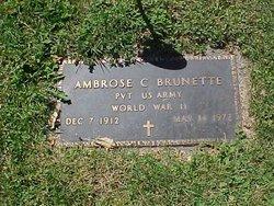 Ambrose C Brunette