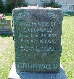 """Amalia Augusta A. """"Mollie"""" <I>Badtke</I> Grunwald"""