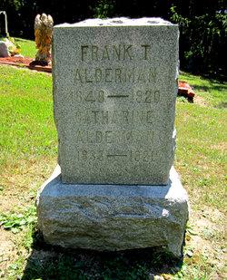 "Franklin T ""Frank"" Alderman"