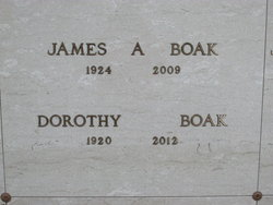 Dorothy <I>Debout</I> Boak