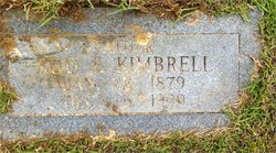 "Benjamin Franklin ""Bud"" Kimbrell"