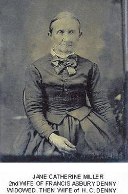 Jane Catherine <I>Miller</I> Denny