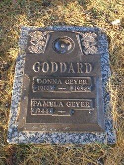 Donna Maxine <I>Smith</I> Geyer Goddard
