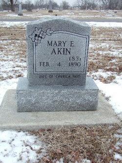 Mary Elizabeth <I>Morgan</I> Akin