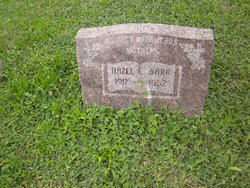Hazel <I>Cole</I> Barr