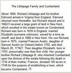 Richard Littlepage, Sr