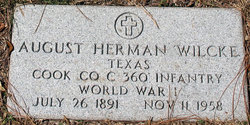 August Herman Wilcke