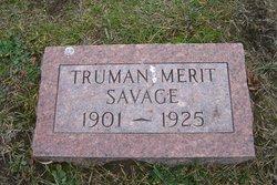 Truman Merit Savage