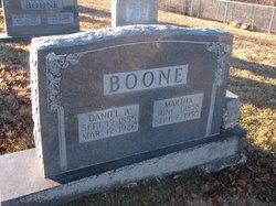 "Daniel Anderson ""Andy"" Boone"