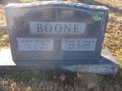 John Wesley Boone