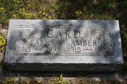 Amber B <I>Hager</I> Card