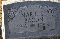Marie Sadie <I>Walton</I> Bacon