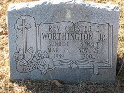 Pvt Chester E Worthington, Jr