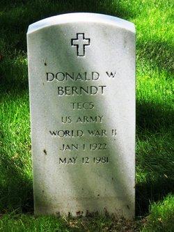 Donald W Berndt