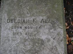 Obediah F. Adams