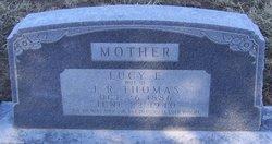 Lucy Elizabeth <I>Vick</I> Thomas
