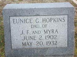 Eunice Geraldine Hopkins