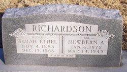 Sarah Ethel <I>Vick</I> Richardson