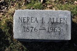 Nerea I. <I>Muffett</I> Allen